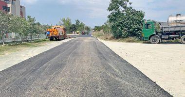 Administrația locală a modernizat strada Ametistului din cartierul Tomis Nord