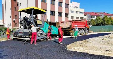 Administrația locală continuă modernizarea străzilor din cartierul Compozitorilor