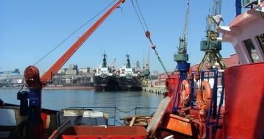 Administraţia portulului Constanţa va investi peste 5,7 milioane de euro în modernizarea danei 80