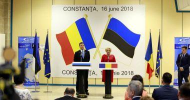 Premierul Viorica Dăncilă a inaugurat ruta Tallinn - Constanța