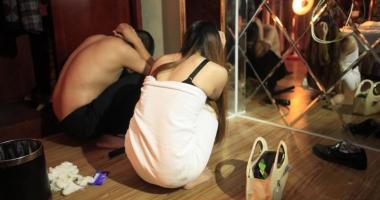Afacerea prostituţia. Droguri şi bătăi în