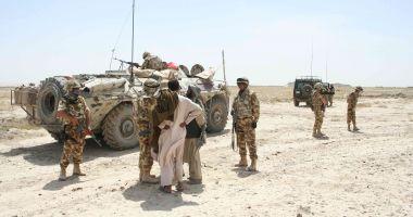 Imagini de colecţie. Militari români, în misiune în Afganistan, în 2006