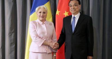 Viorica Dăncilă s-a întâlnit cu premierul Chinei. Au discutat despre parteneriatele public-privat