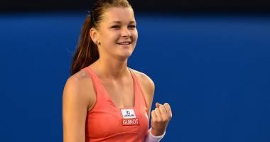 Agnieszka Radwanska, prima finalistă a Turneului Campioanelor de la Singapore