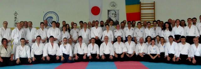 Seminar pentru celebrarea a 11 ani de aikido la Constanţa