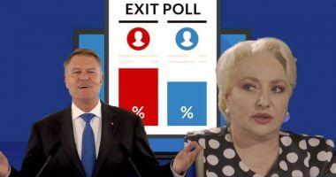 Rezultate exit-poll. Procente INCREDIBILE! Cine este președintele României și cine a făcut diferența