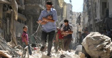 Mai multe avioane neidentificate au bombardat orașul sirian unde a avut loc presupusul atac chimic