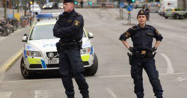 Alertă la Malmo! Poliţiştii au împuşcat un suspect