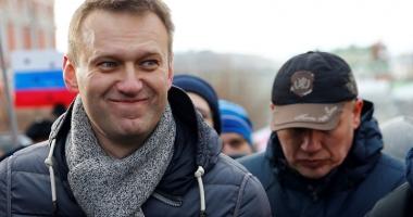 Principalul opozant rus,  Alexei Navalnîi, eliberat din închisoare