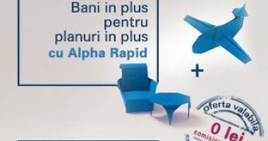 Campanie promoţională la Alpha Bank. Iată ce le oferă banca clienţilor săi