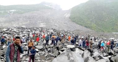 Cel puţin  93 de persoane dispărute  după alunecările de teren din China