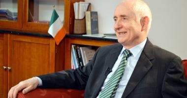Ambasadorul Irlandei la București,  în vizită la Universitatea