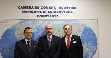 Ambasadorul Republicii Macedonia, în vizită la CCINA Constanța