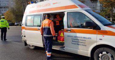Accident rutier în Hârşova. Copil de 10 ani, LOVIT DE UN AUTOTURISM