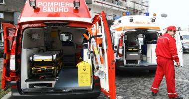 Victima accidentului de la Boema, în comă, după ce a fost lovită pe trecere