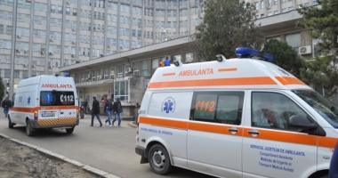 ALERTĂ LA AMBULANŢA CONSTANŢA. Bărbat rănit grav, de urgenţă la spital