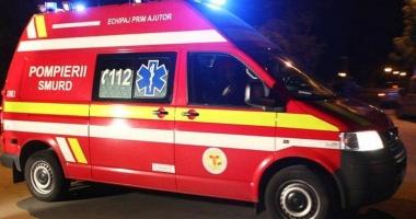 GALERIE FOTO / Mercedes spulberat de un TIR, la Constanța. Șoferul nu a avut nicio șansă
