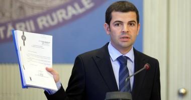 """""""Am convenit să renunţ la funcţia de vicepremier până la restructurarea Guvernului"""""""