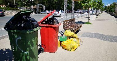 Amenzi pentru agenții economici care lasă gunoiul la stradă, în Mamaia