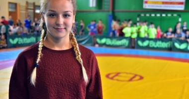 Andreea Ana, o luptătoare vicecampioană mondială şi elevă eminentă!