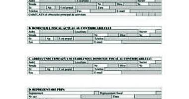 ANAF adaptează formularele 201 şi 205