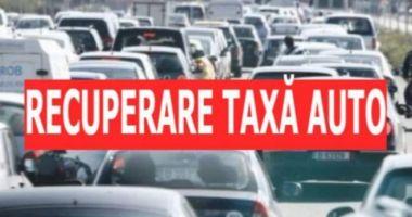 ANAF a restituit taxe auto în sumă de 700 milioane de lei