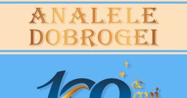 """""""Analele Dobrogei""""- 100 de ani de la apariţia primului număr"""