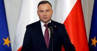 Preşedintele Poloniei cere noi sancţiuni europene împotriva Rusiei