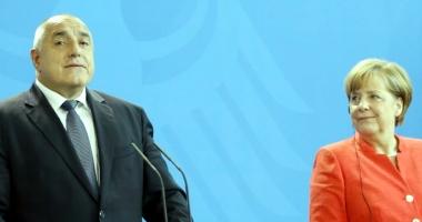 Angela Merkel salută iniţiativa premierului bulgar privind  organizarea unei reuniuni UE-Turcia