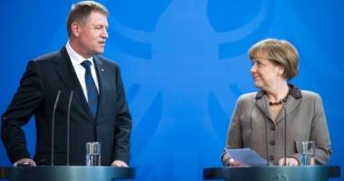 Iohannis, la Berlin / Primele reacţii despre criza politică din România