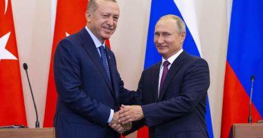 Apărarea aeriană, pe agenda discuţiilor dintre Putin şi Erdogan