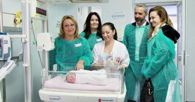 Aparatură medicală nouă, donată Secţiei de Neonatologie a Spitalului Medgidia