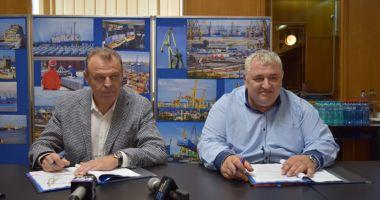 A fost semnat contractul de finanțare pentru dragajul din Portul Constanța