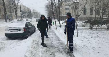 Apel la populație să evite deplasările pentru a se putea interveni la curățarea drumurilor!