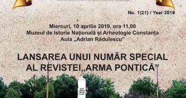 """Semnal editorial. A apărut un nou număr al revistei """"Arma Pontica"""""""