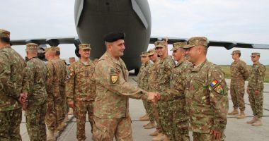 Militari de elită! Şoimii Carpaţilor se întorc din Afganistan