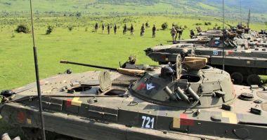 """După inamic! """"Dragonii Transilvani"""", exerciții de rezolvare a unor situații tactice"""
