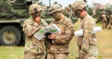 8.000 de militari români şi străini, la Saber Guardian 2019