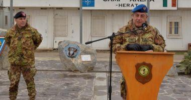 Militari români, în comandamentul multinaţional comandat de partenerii italieni
