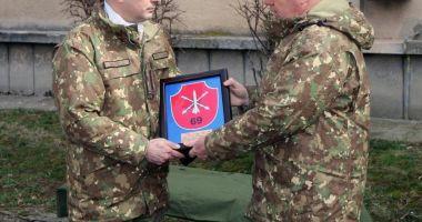 Batalionul 612 Artilerie Antitanc are un nou comandant