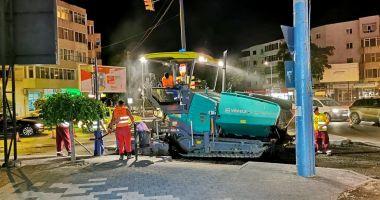 Administrația locală asfaltează bulevardul Tomis
