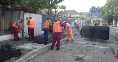 Constanţa, asfaltată! Nu parcaţi în zonele unde se lucrează