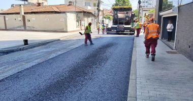 Străzile din cartierul Faleză Nord, asfaltate de Confort Urban