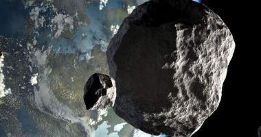 Un asteroid gigant, cu diametrul de 85 metri, va trece mâine pe lângă Pământ