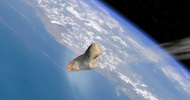 Un asteroid se apropie de Pământ azi, înainte de miezul nopții