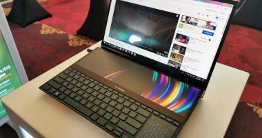 Laptopul unic în lume, expus la București, în premieră europeană