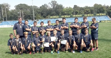 AS Victoria Cumpăna, campioană naţională la rugby U12