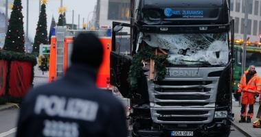 Poliţia germană a arestat patru persoane suspectate că ar fi avut legături cu bărbatul responsabil pentru atentatul de la Berlin