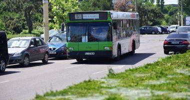 Atenție, constănțeni! Autobuzele de pe liniile 44  și 51 circulă deviat