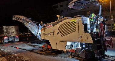 Atenţie, constănţeni ! Au început lucrările de asfaltare pe bulevardul Tomis!